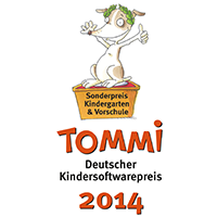 Deutscher Kindersoftwarepreis TOMMI
