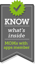 Member of 'KNOW what's inside' by MOMs with Apps.
